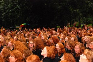 large-group-of-redheads-parting-the-red-sea